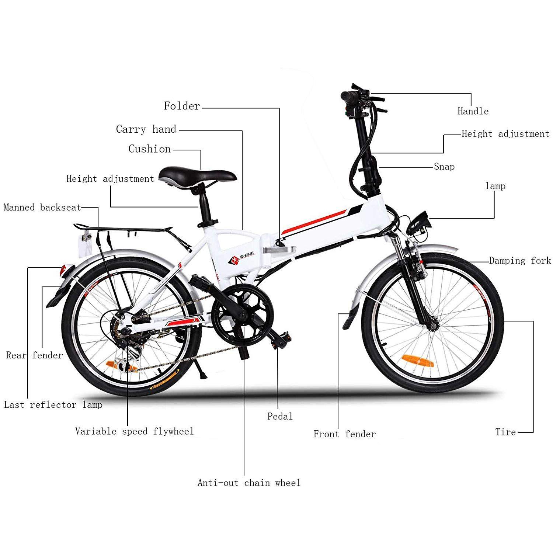 Miageek Electric Bike Review Folding Electric Mountain Bike