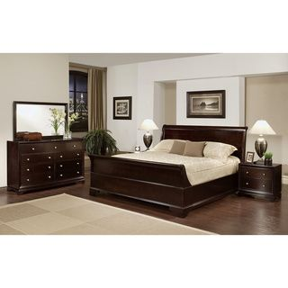 california king size bedroom set. Abbyson Living Kingston 5 piece Espresso Sleigh King size Bedroom Set  Overstock