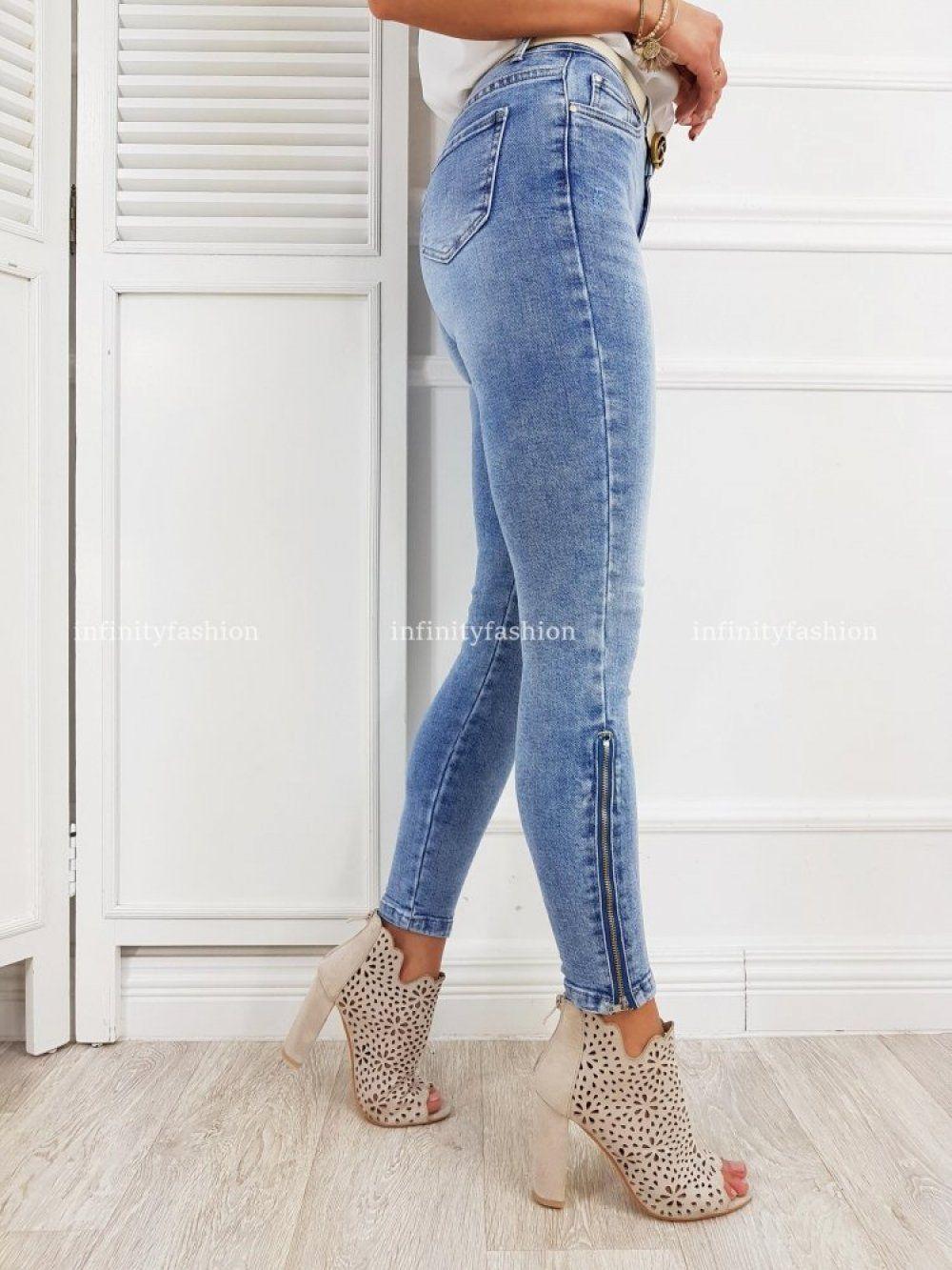 Spodnie Jeansowe Tiziano Spodnie Infinityfashion Skinny Jeans Mom Jeans Fashion