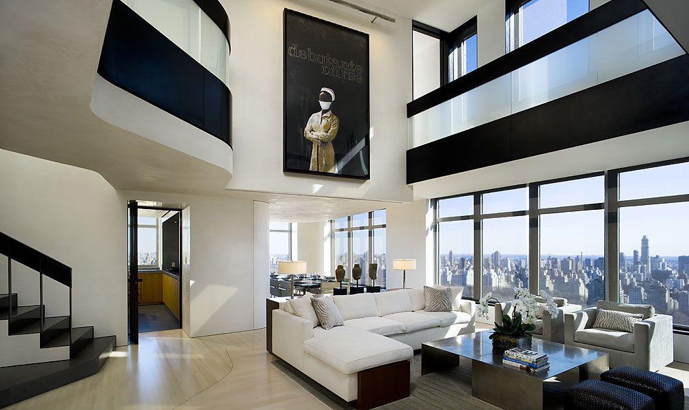 Penthouses Central Park West Penthouse Duplex Manhattan New York C Paul Warchol Click