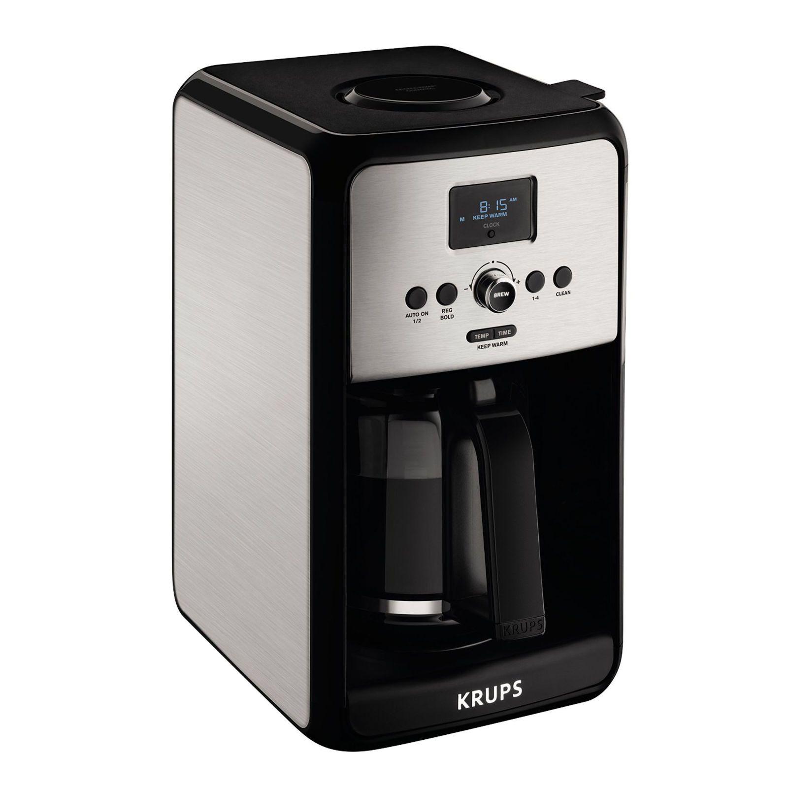 Krups savoy cup programmable coffee maker ec coffee maker