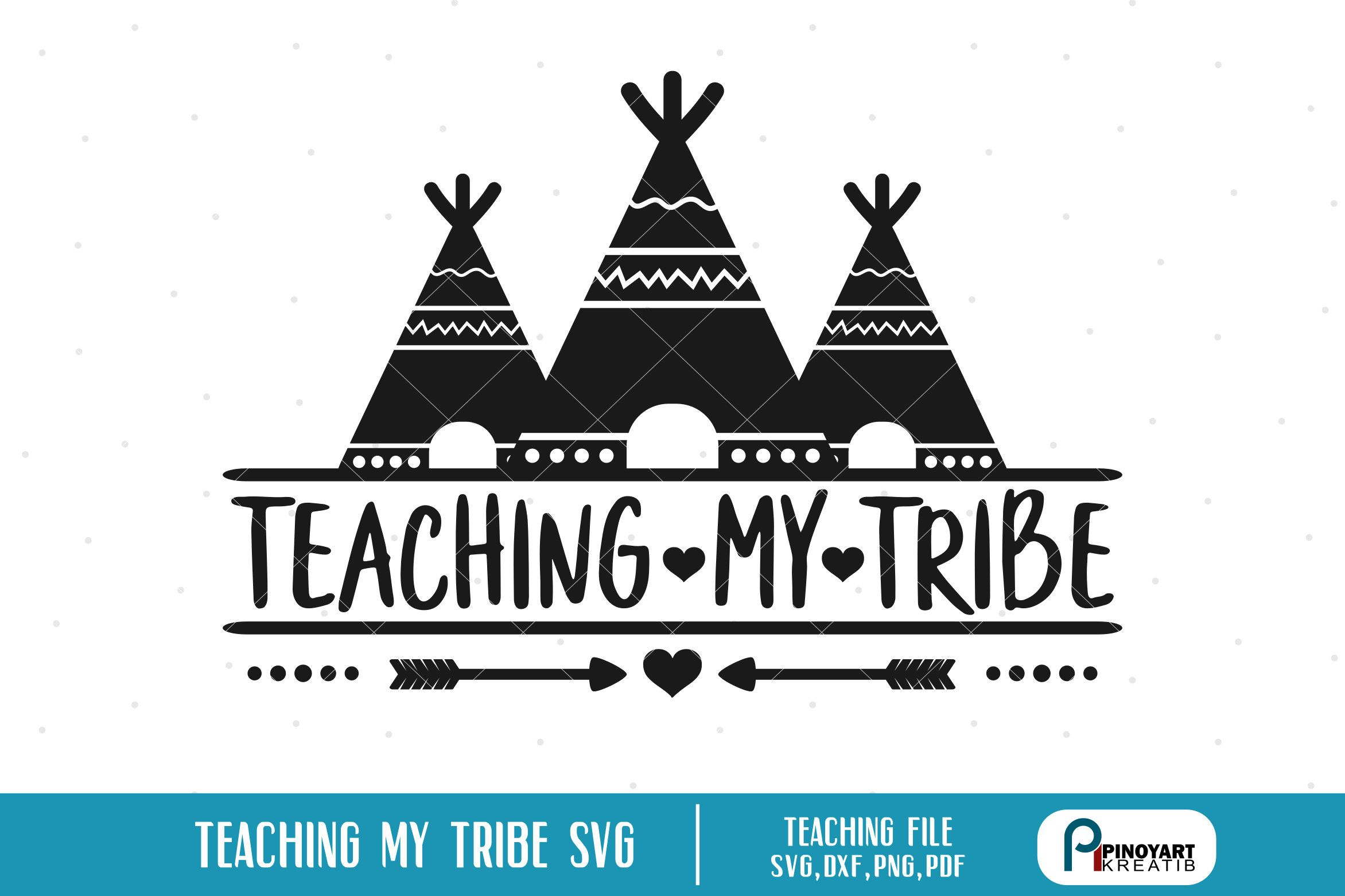 Excited To Share The Latest Addition To My Etsy Shop Teaching My Tribe Svg Teaching Svg Teacher Svg Teaching Clipart Teacher Clipart Svg Files For Cricut