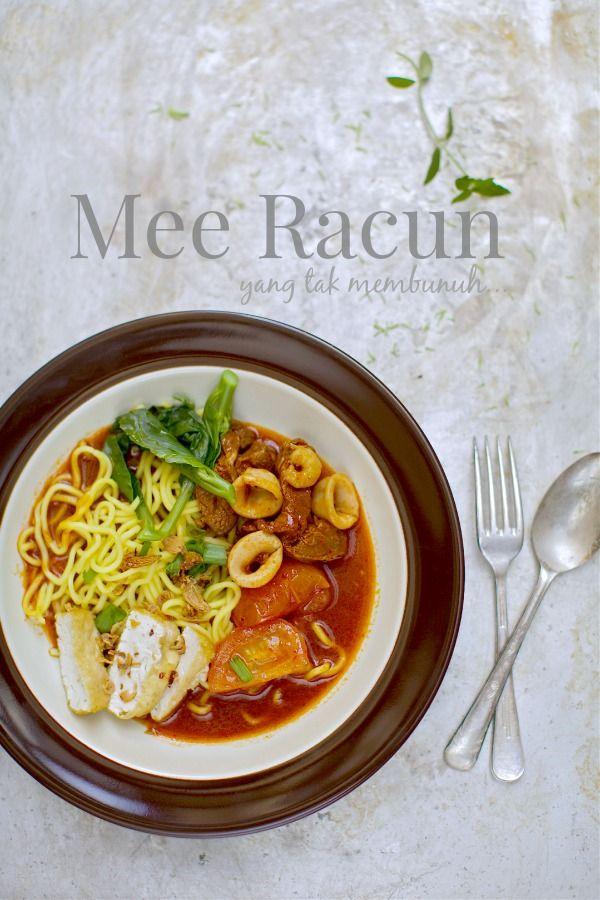masam manis: Resepi Mee Racun | Resep masakan, Fotografi ...