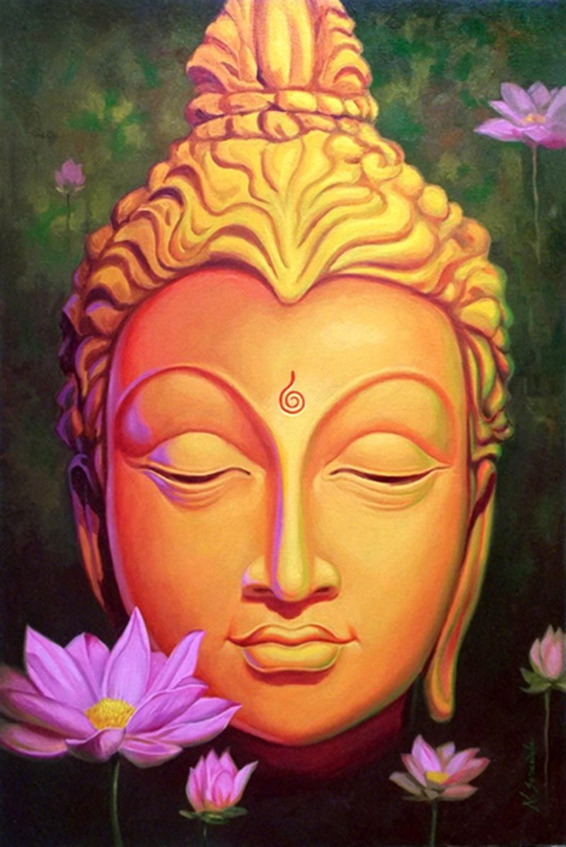 Click to discover the meaning of your life number in the for Buddha mural paintings
