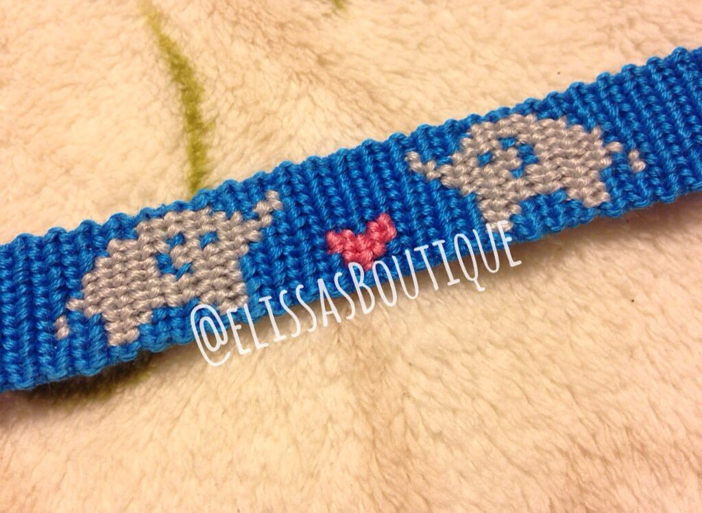 Love Elephants Friendship Bracelet Pattern Number 11464 For More Patterns And Tutorials Visit Our Web Or The
