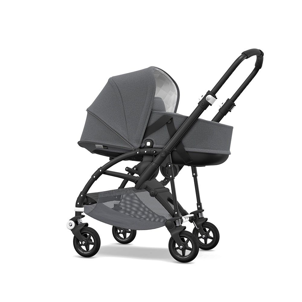 The Bugaboo Bee5 Classic+ has a sophisticated and timeless