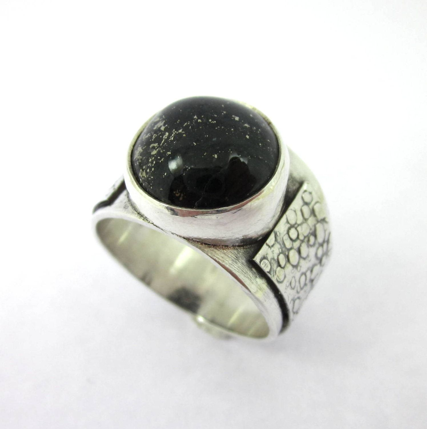 inlaid rings gold jewelry metamorphosis black design ring product jade