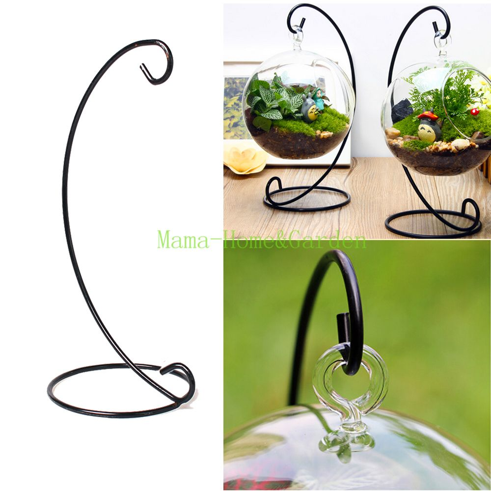 12 inch without vase flower plant stand hanging hydroponic. Black Bedroom Furniture Sets. Home Design Ideas