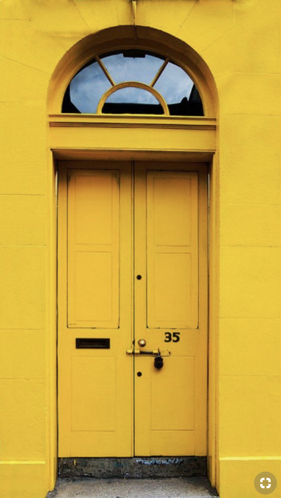 Pin by The Fold London on YELLOW Yellow doors, Yellow