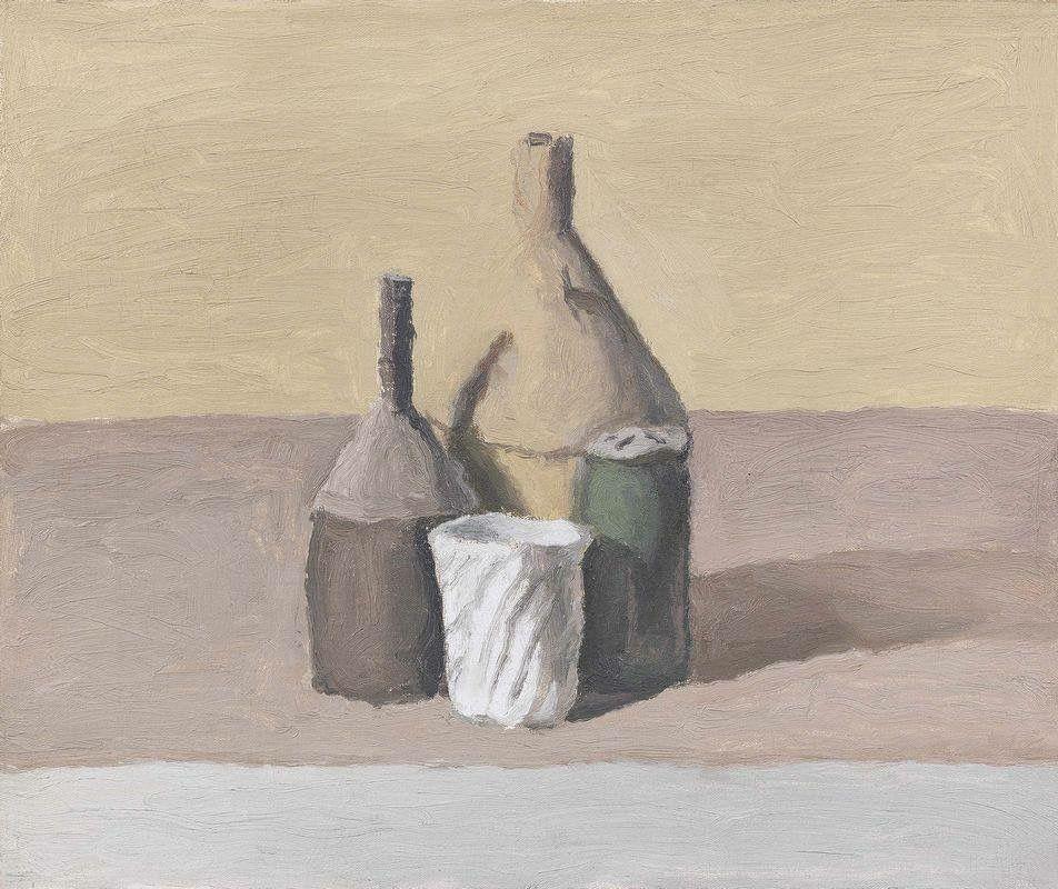 Giorgio Morandi - Natura morta (Still-Life), 1956.