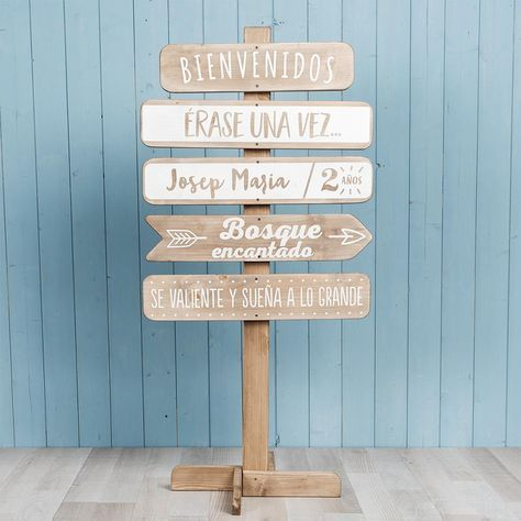 Rústico Boda de esta manera Signo Placa de flecha de madera Personalizado De Boda Decoración