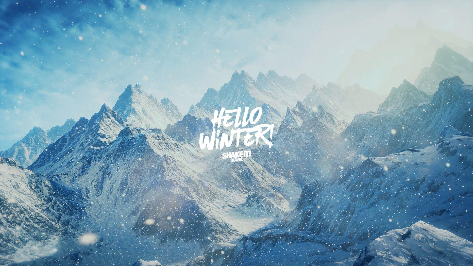 Winter Collection Hello Winter Desktop Tapety
