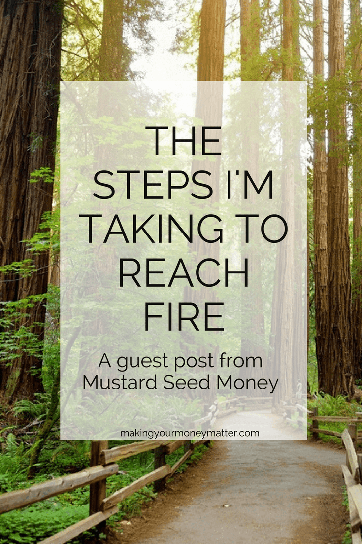 The Steps I'm Taking to Reach FIRE | Making Your Money Matter Blog