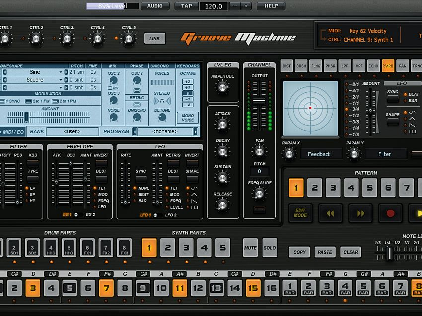 Image Line Groove Machine Drum machine, Best drums, Machine