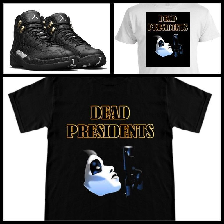 3ad9fa10e568 EXCLUSIVE TEE SHIRT to match the NIKE AIR JORDAN 12 XII MASTERS!-DEAD PREZ   COPEMCUSTOMS  GraphicTee