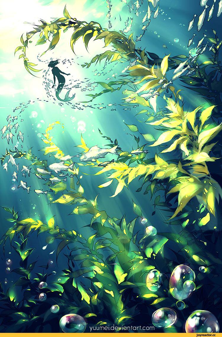 underwater paintings artwork - 750×1139