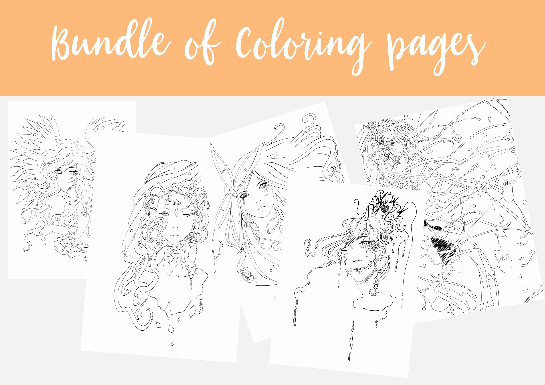 Manga Drawing Book Pdf Beautiful Manga Coloring Page Manga Art Anime Cartoon Line Art Instant Download Bund In 2020 Manga Drawing Books Drawing Book Pdf Coloring Pages