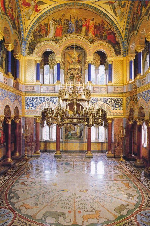 Throne Hall Of Neuschwanstein Castle Bavaria Germany Neuschwanstein Castle Germany Castles Castle