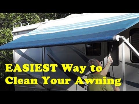 How To Tip Easiest Way To Clean An Rv Awning Rv Living
