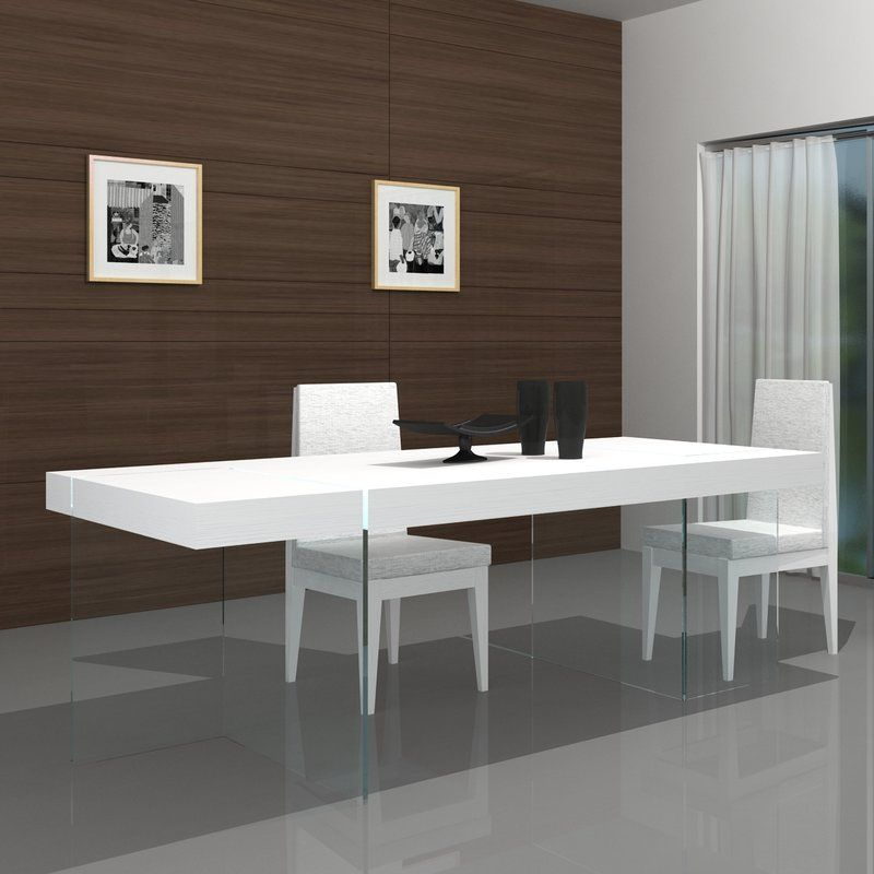 Domenica Modern Dining Table With Images Unique Dining Tables
