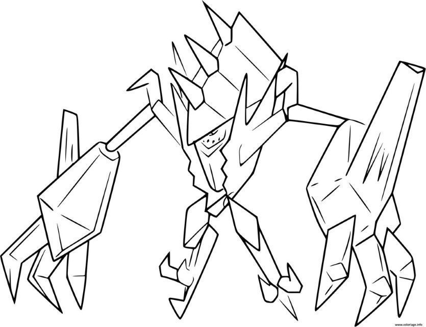 Coloriage Pokemon Legendaire A Imprimer Pokemon Pokemon