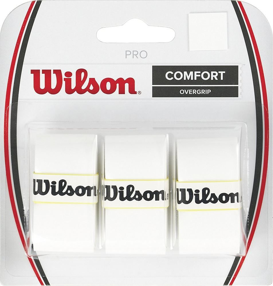Details About Wilson Wrz4014wh Comfort Tennis Pro Racquet Pack Of 3 Overgrip White With Images Wilson Tennis Racquets