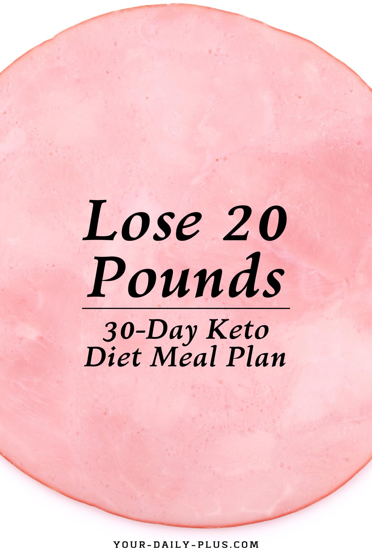 Keto Daily Meal Plan Sample