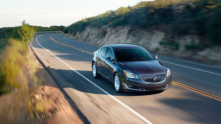2016 Buick Regal Newly Designed Headlamps And Tail Lamps Add A