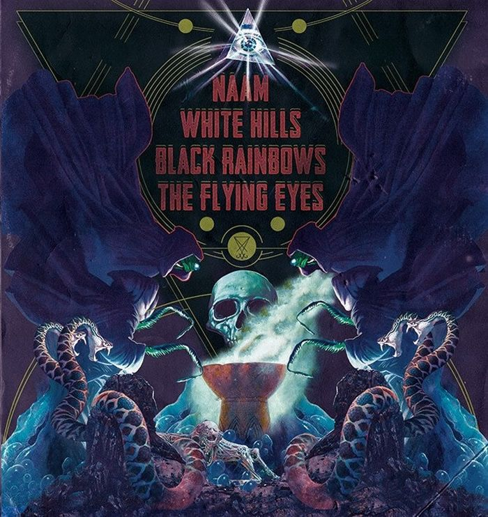 Naam/White Hills/Black Rainbows/The Flying Eyes (2014) - Psychedelic/Stoner Metal - USA/Italy