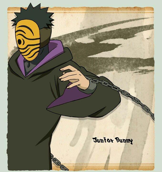 Masked Man Tobi Cosplay Naruto Akatsuki