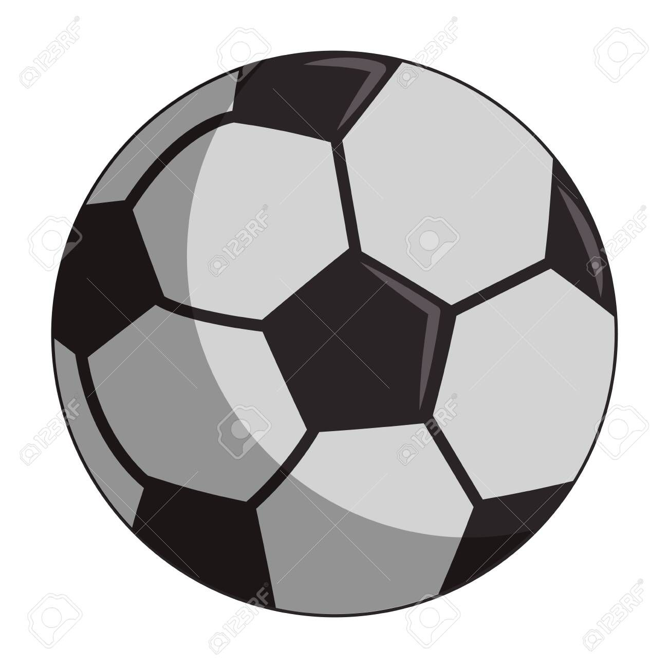 Soccer Sport Ball Cartoon Isolated Symbol Vector Illustration Graphic Design Affiliate Cartoon Isolated Ball Socc With Images Sports Balls Graphic Design Soccer