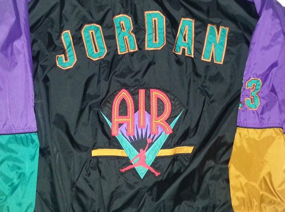 huge selection of 9f561 249d7 Vintage Gear  Nike Air Jordan VII Windbreaker   Jordans Daily .