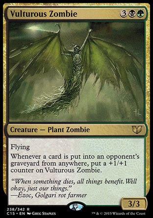 COmmander 2x VULTUROUS ZOMBIE NM Rare MTG Magic the Gathering