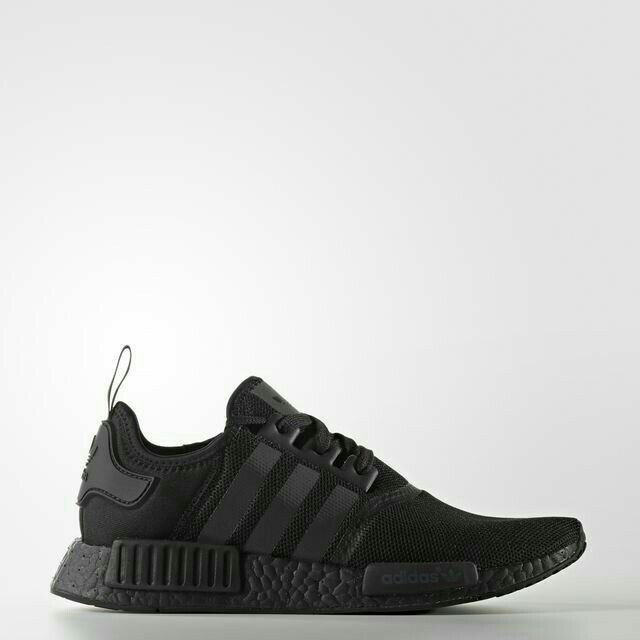 14d842aac Details about Adidas NMD R1 J Core Black White Mesh US Boys girl GS Youth  Nomad Junior S80206 in 2019