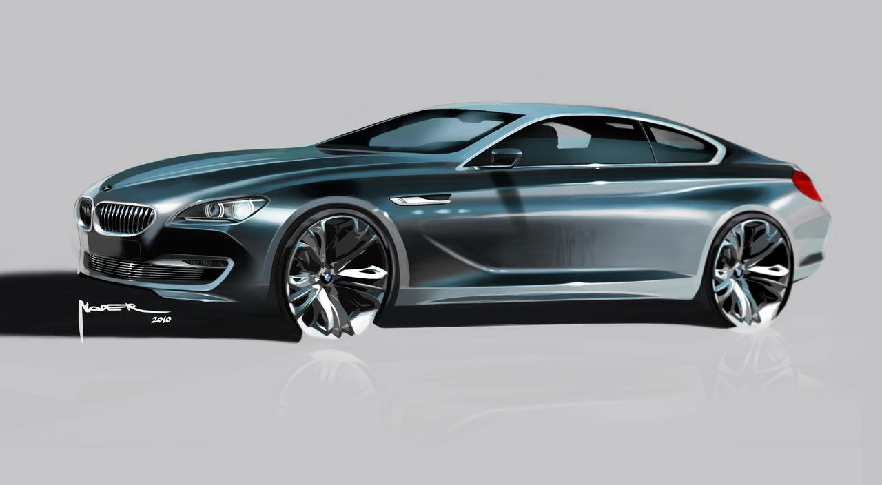 Bmw 6 Series Coupe Concept Design Sketch Bmw Sketch Bmw Design