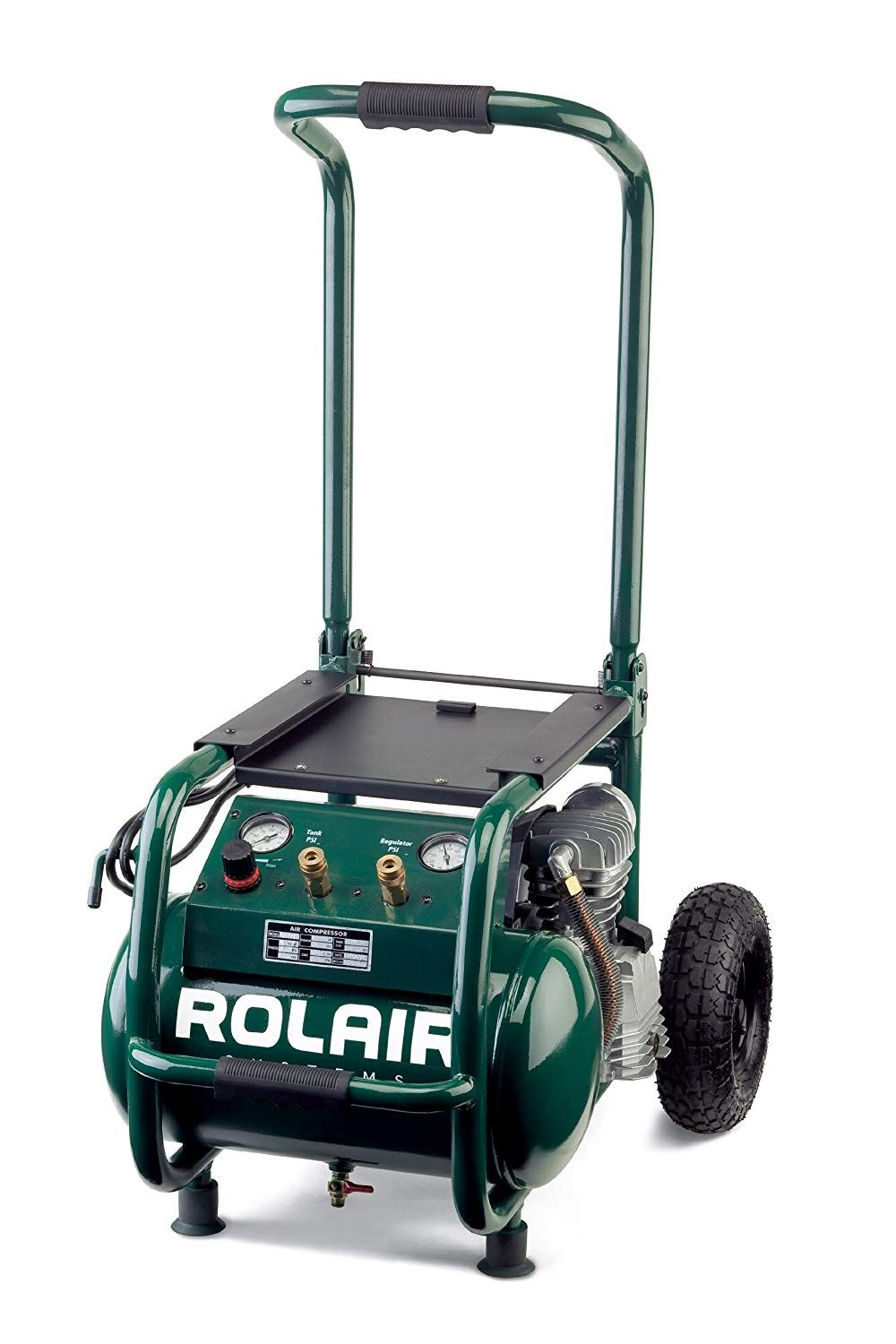 Rolair VT25BIG 2.5 HP Wheeled Compressor with Overload