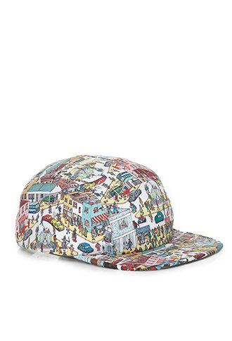 dcc8d14dffe Where s Waldo Five-Panel Hat