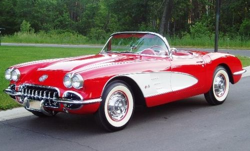 1960 C1 Corvette   Ultimate Guide (Overview, Specs, VIN Info, Performance & More)