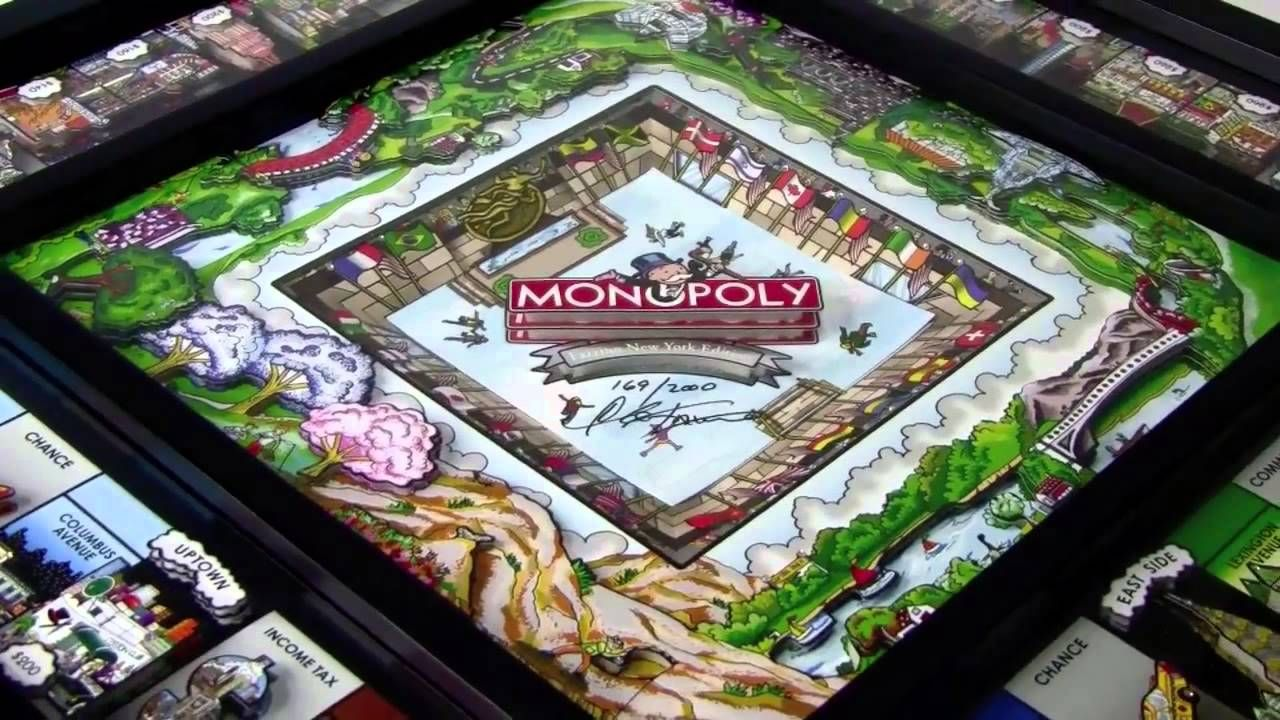 3D New York City Monopoly by Charles Fazzino Board games
