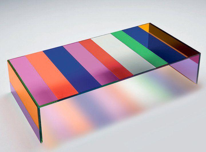 Multi Color Lucite Table Home Decor Lucite Coffee