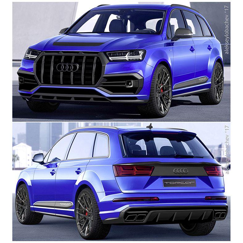New Project Audi Q7 Top Car 2017 First Sketches Audi Audiq7 Q7