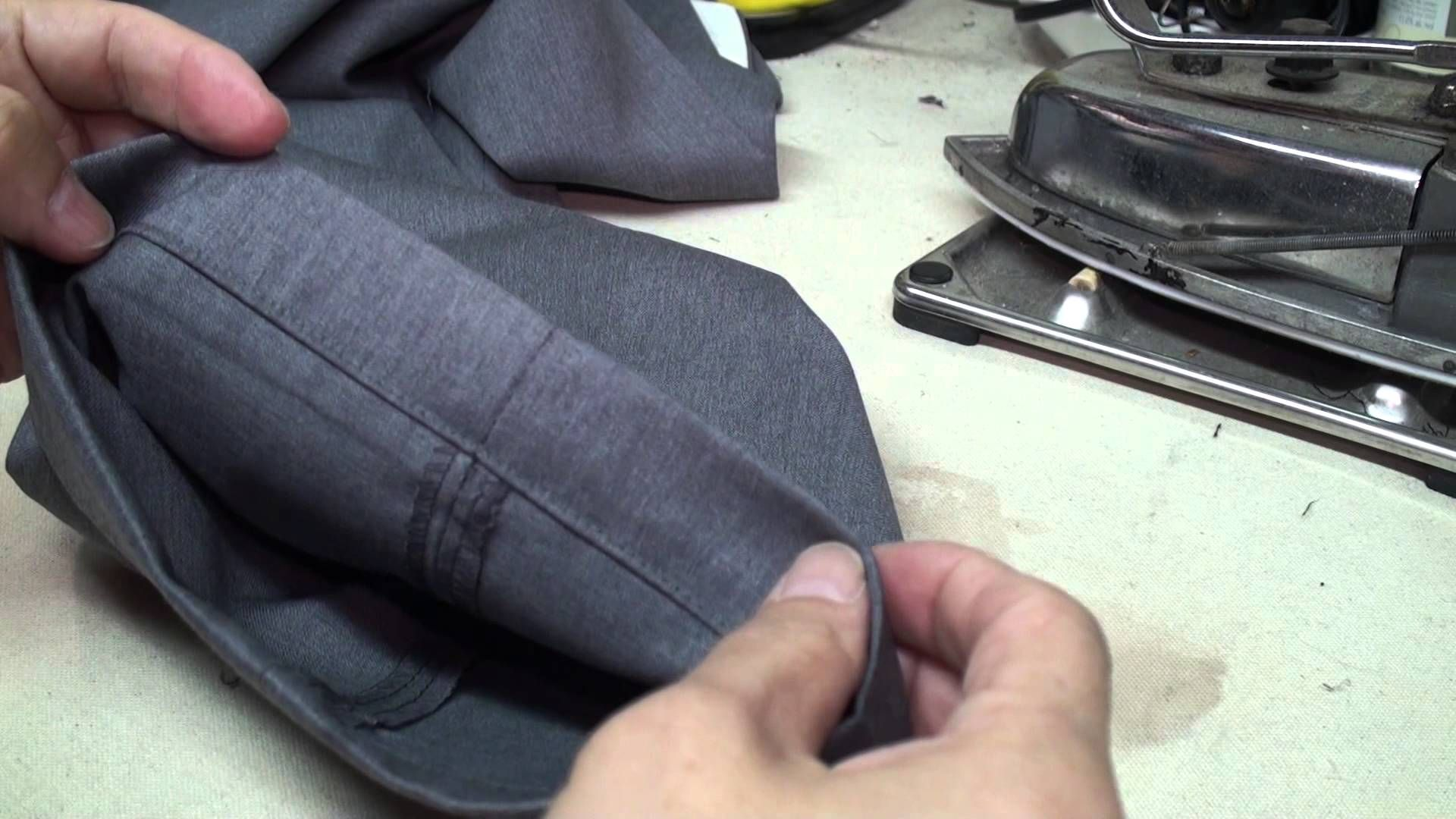 How To Hem Pants With A Cuff How To Hem Dress Pants With Cuff And Jeans Hem Dress Pants How To Hem Pants Dress Pants