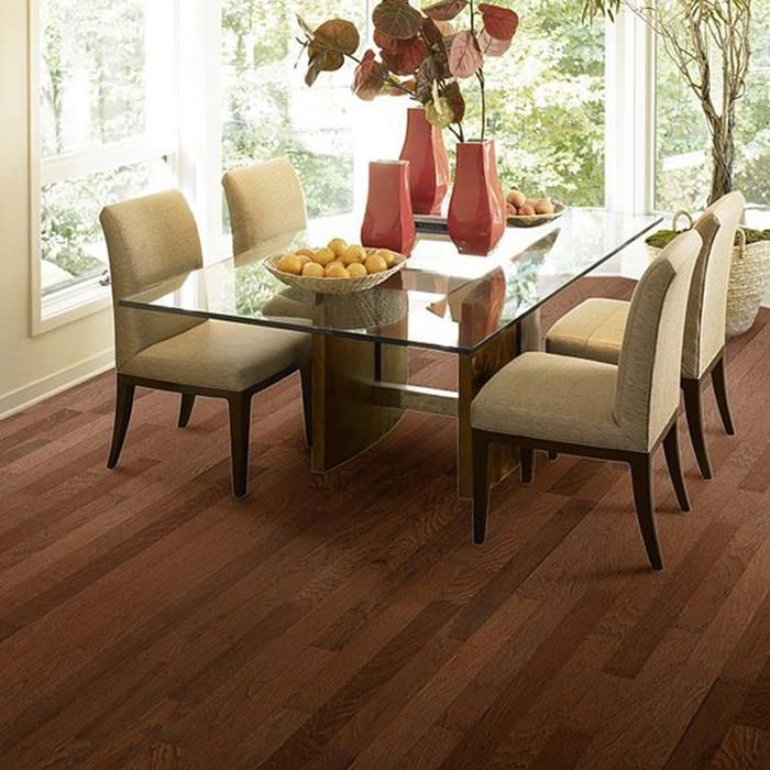 Rustique Burnished Amber Hickory Hardwood | Nebraska Furniture Mart