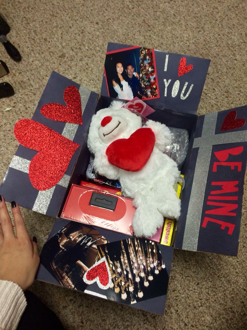 long distance relationship Valentine's Day care package