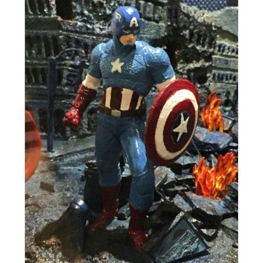 Captain America made of chocolate at Epcot food and wine festival.