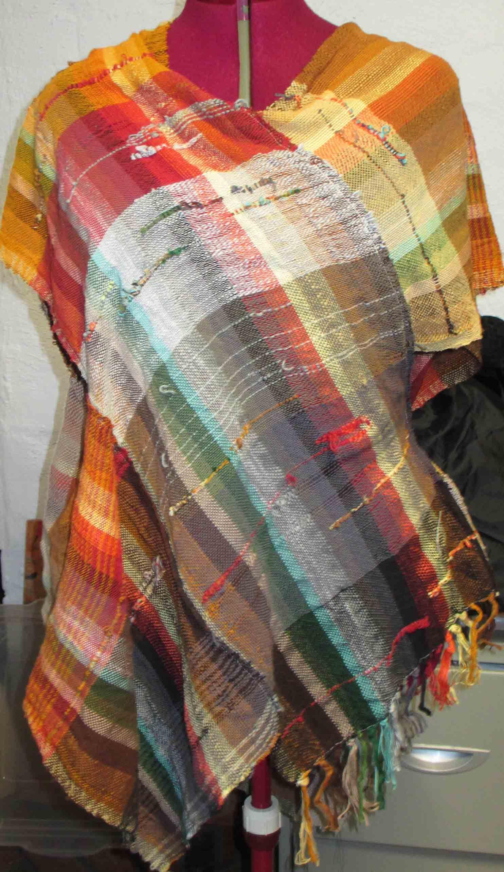 Saori Style Cotton Warp And Weft Winjanaroad Studio Art