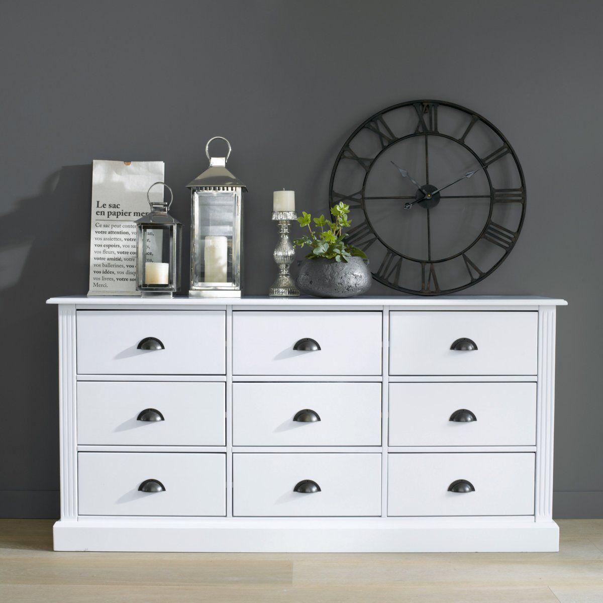 meuble de mercerie pin massif authentic style pin massif la redoute interieurs et la redoute. Black Bedroom Furniture Sets. Home Design Ideas