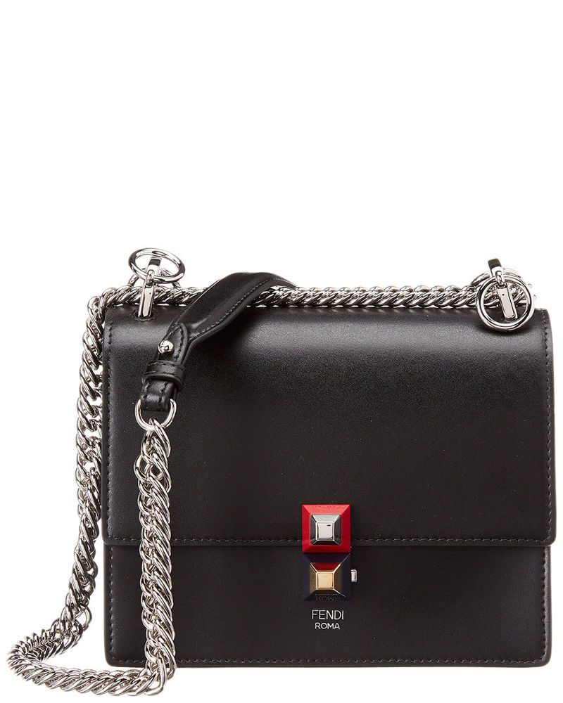 f9164f567c3b Fendi Kan I Small Leather Shoulder Bag Black  fashion  clothing  shoes   accessories