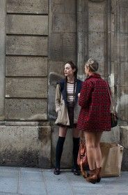 Coat shape... On the Street….Le Marais, Paris
