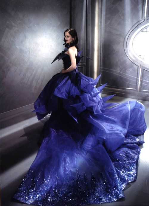 Eva Green for Dior... Dress by John Galliano.
